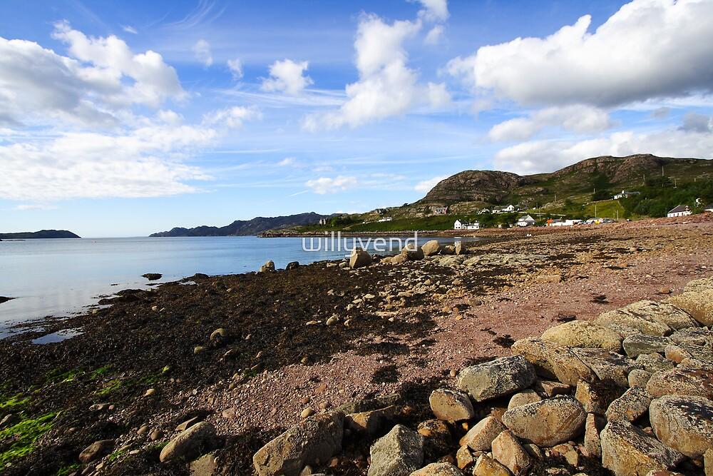Schieldaig - Scotland by Willy Vendeville