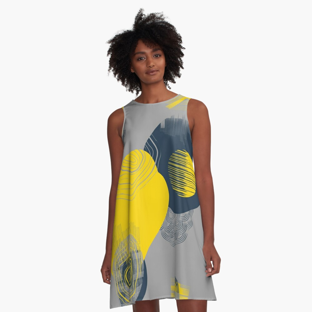 Colour and pattern - Abstract 2 A-Line Dress