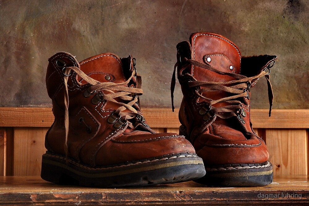 old shoes by dagmar luhring