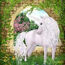 Unicorn - Oasis of Peace von Gaby Shayana Hoffmann