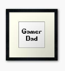 Gamer Dad Framed Print