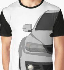 Subie life white Graphic T-Shirt