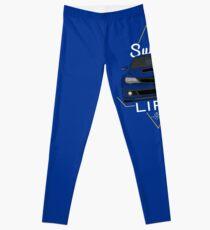 Legging Subie vida azul