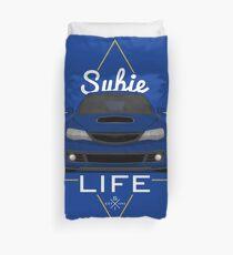 Subie life Blue Duvet Cover