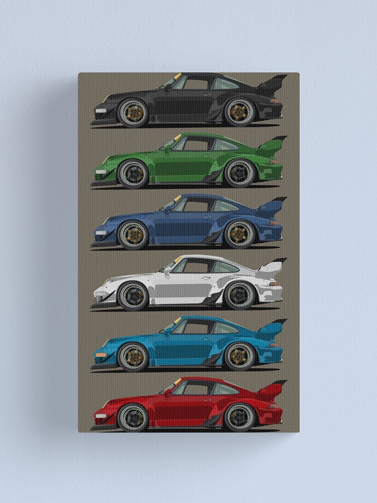Alternate view of old classics Canvas Print