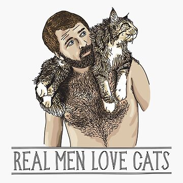 Real Men Love Cats by beardsandcats