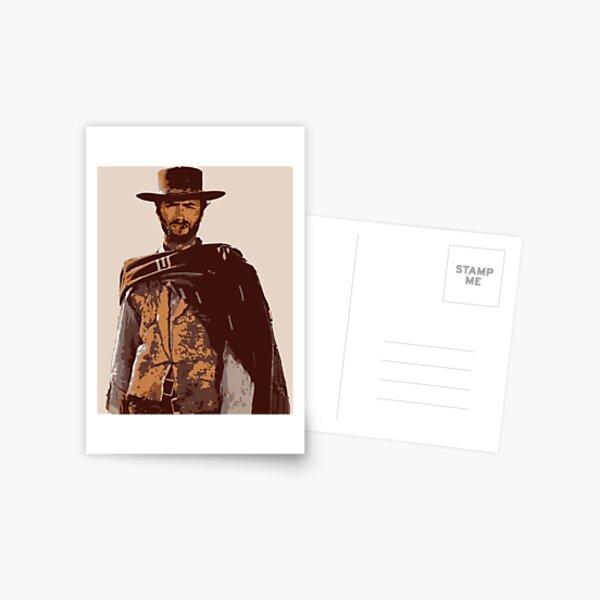 Clint Eastwood Carte postale