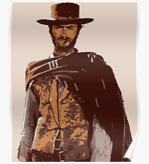 Póster Clint Eastwood