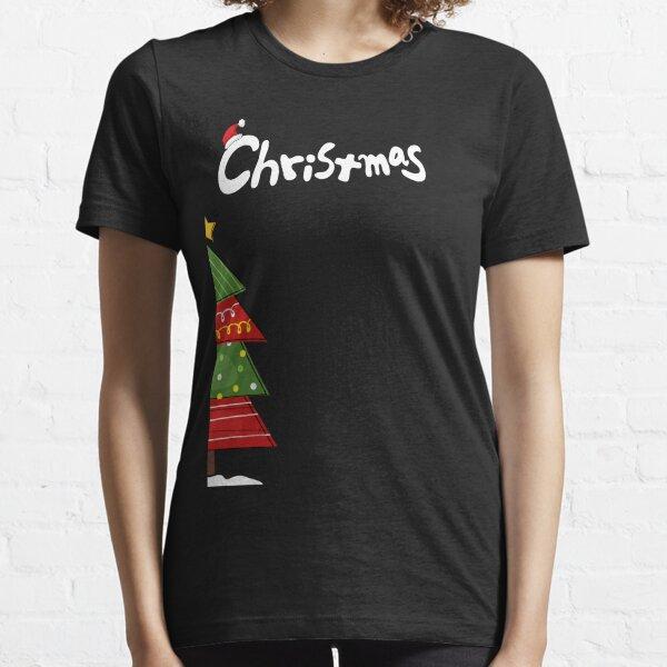 Naughty Christmas T-Shirt Who Me Festive Birthday Gift Adults /& Kids Tee Top