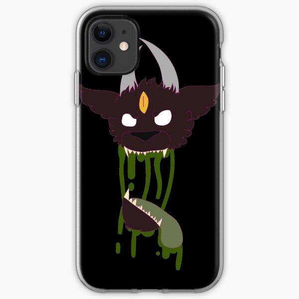 Zombie demon iPhone Soft Case