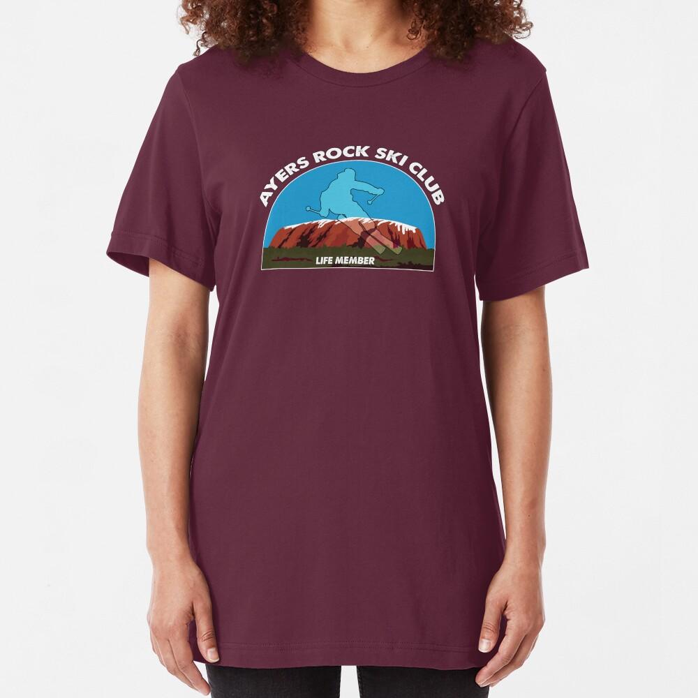 Ayers Rock Ski Club Slim Fit T-Shirt