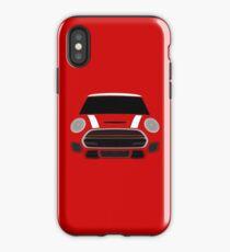 Weißer italienischer Job iPhone-Hülle & Cover