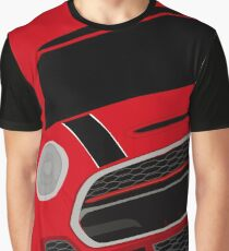 Red italian Job Graphic T-Shirt