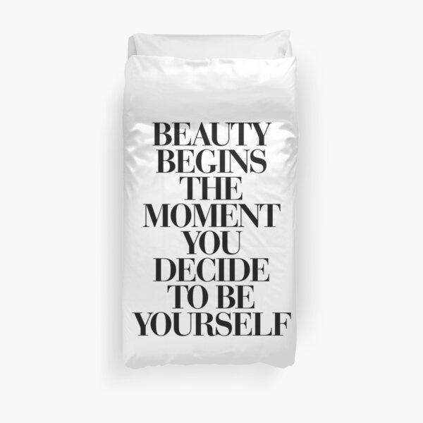 citations de motivation à la mode Housse de couette