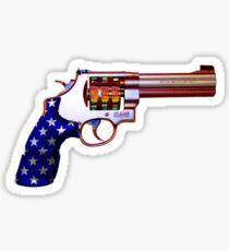.45ACP, Are You Felling Lucky USA Casino 7'S Slot Gun Sticker