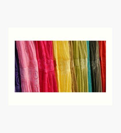 Dresses - any colour you like! Art Print