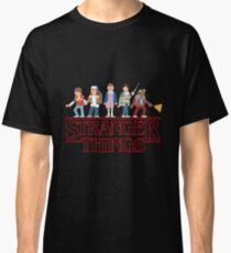 Stranger Things Cartoon Graphic Classic T-Shirt