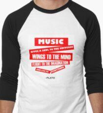 MUSIC Men's Baseball ¾ T-Shirt