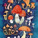 Mushrooms by Julia Nikitina
