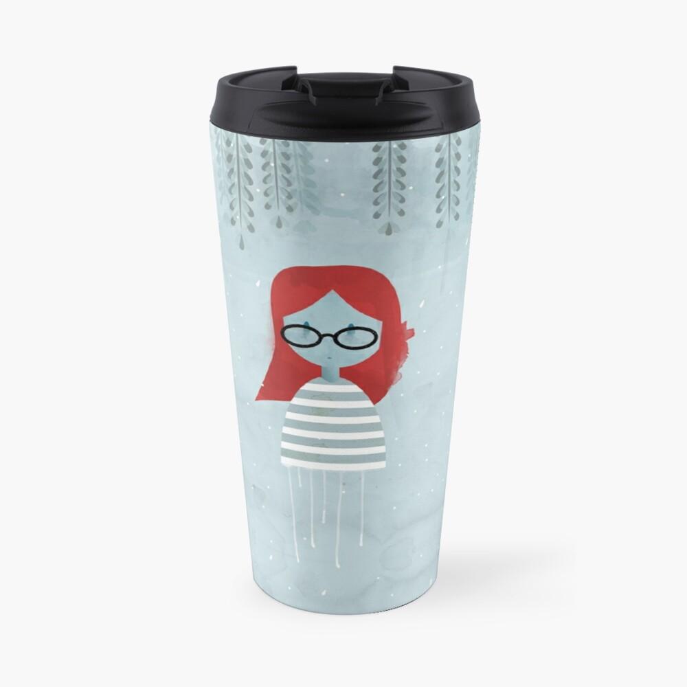 Blue Willow Travel Mug