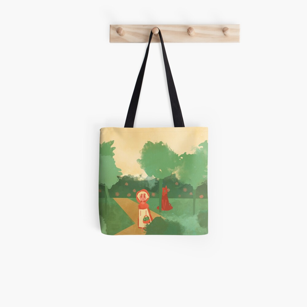 Little Red (Ver 2) Tote Bag