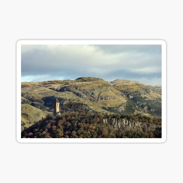 The National Wallace Monument - Stirling, Scotland Sticker