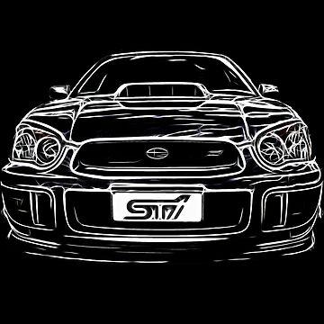 Subaru WRX Impreza by Clintpix