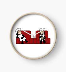 Schafe im Kino Uhr