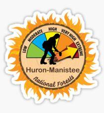 Huron-Manistee National Forests Wildland Firefighter Sticker