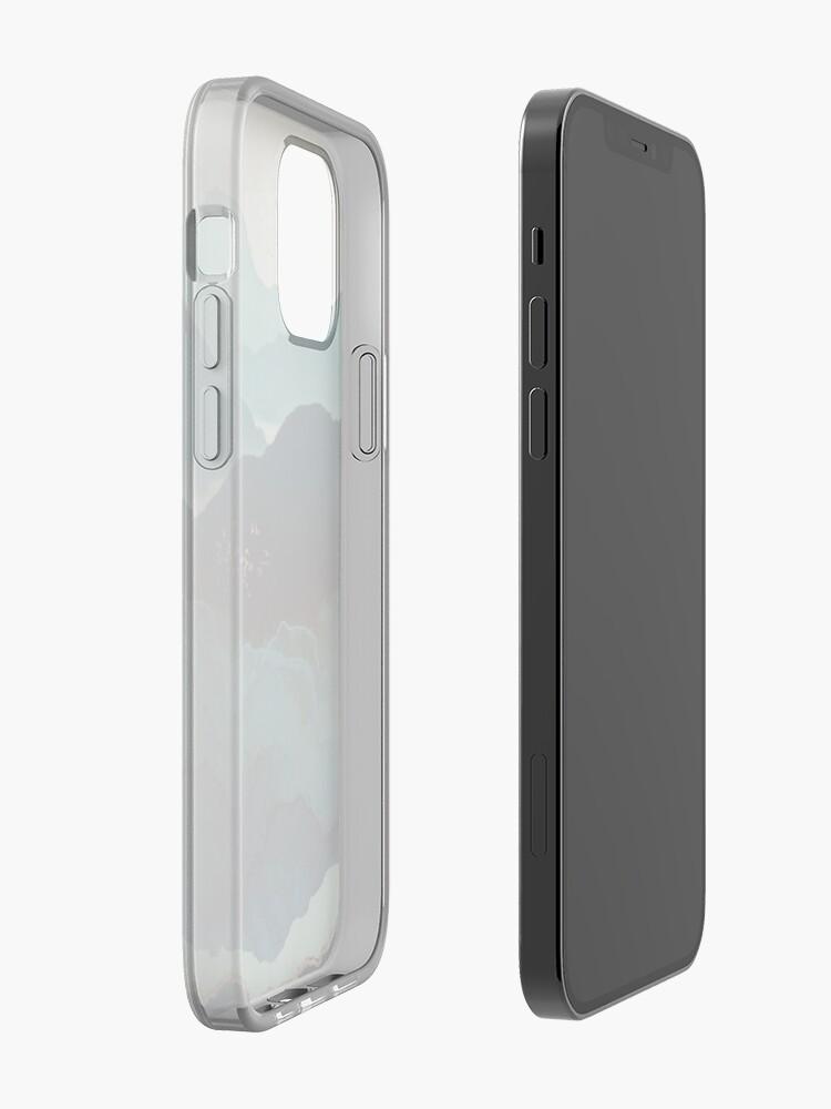 Alternate view of Indigo Mountains iPhone Case & Cover