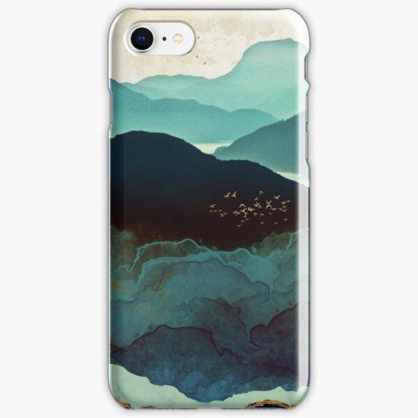 Indigo Mountains iPhone Snap Case