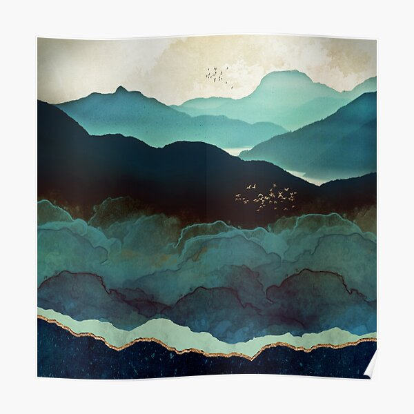 Indigo Mountains Poster