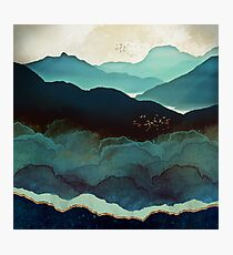 Indigo-Gebirge Fotodruck