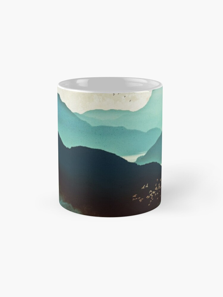 Alternate view of Indigo Mountains Mugs