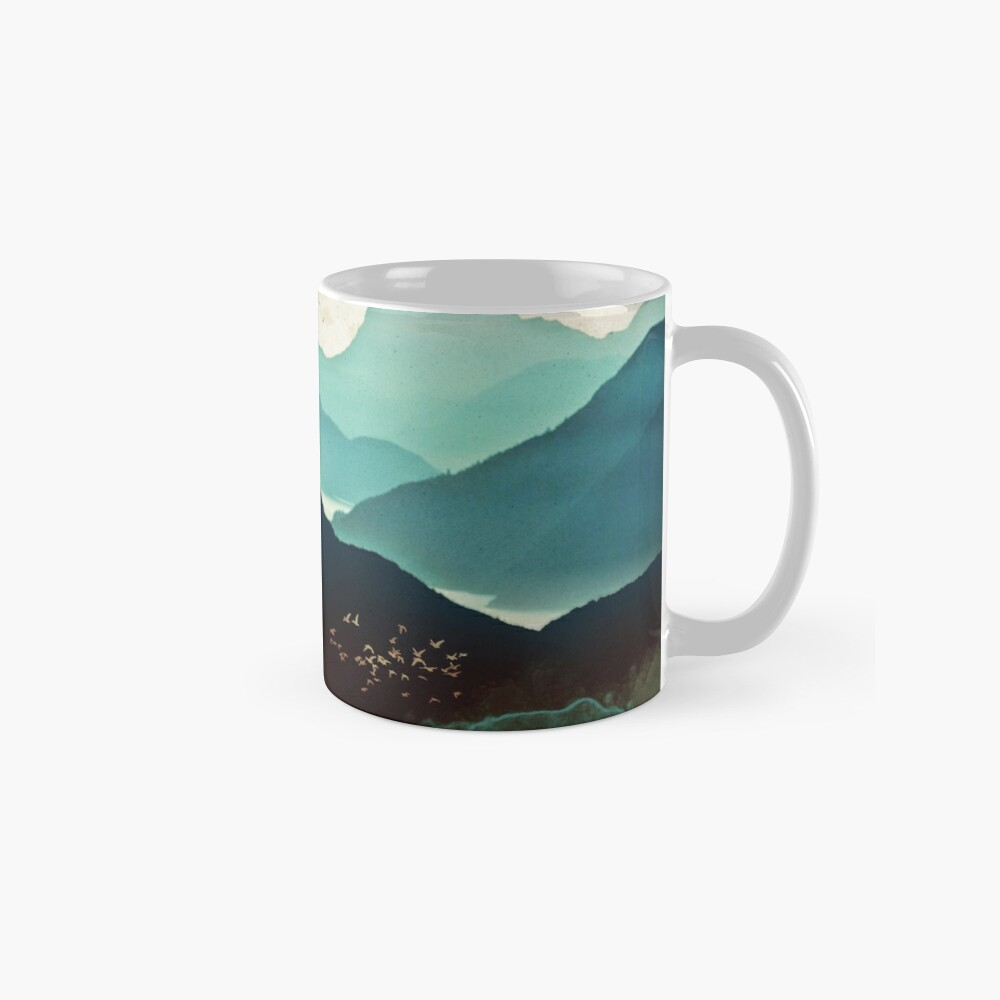 Indigo Mountains Mugs