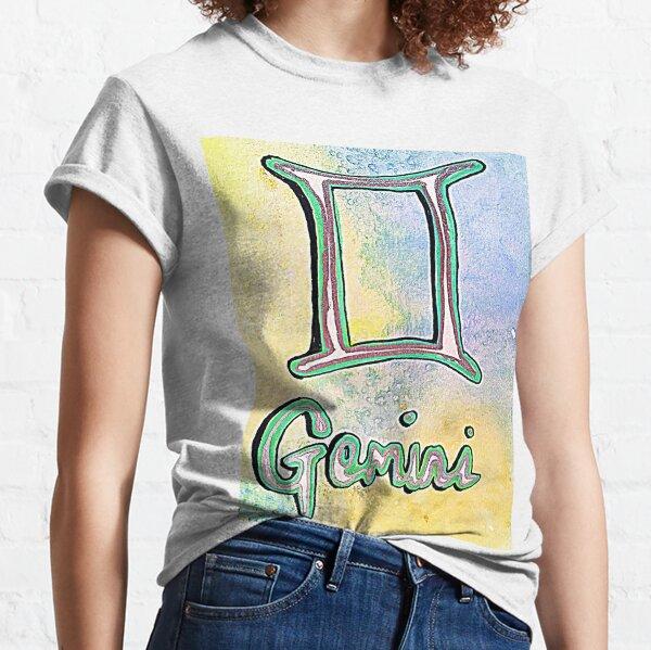 Gemini, zodiac, astrology, horoscope, star sign  Classic T-Shirt
