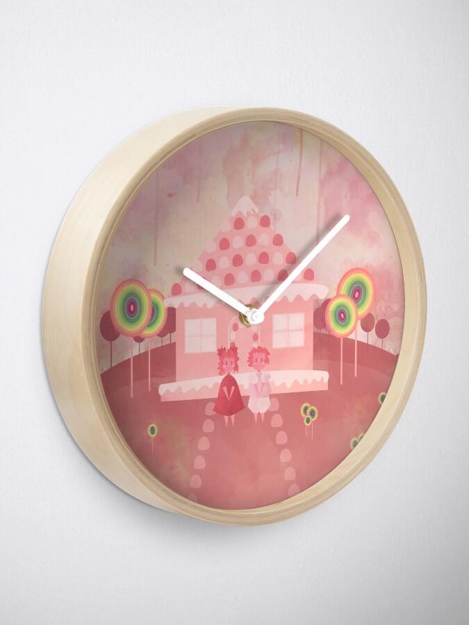 Alternate view of Candy Fields (Hänsel & Gretel) Clock