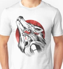 The girl and the wolf Unisex T-Shirt