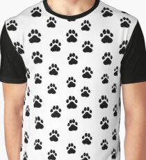 Dog`s Paws  Graphic T-Shirt