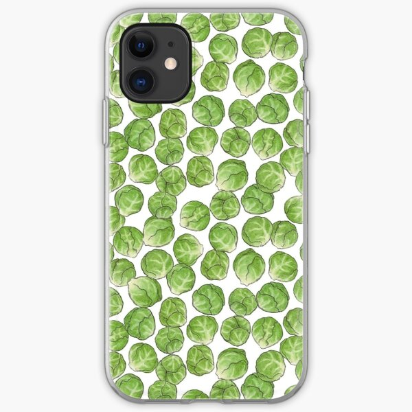Brussel Sprouts pattern iPhone Soft Case