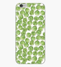 Brussel Sprouts pattern iPhone Case