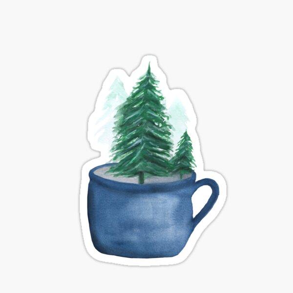 Oh Christmas Tea Sticker