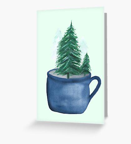 Oh Christmas Tea Greeting Card