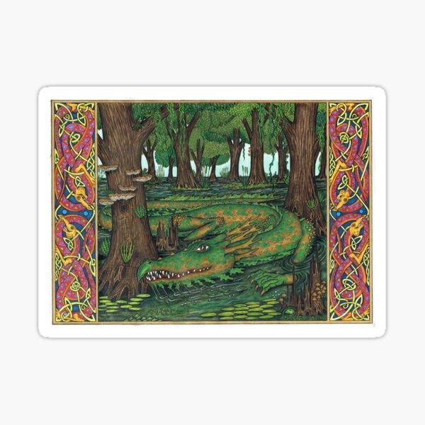 The Swamp Dragon Sticker