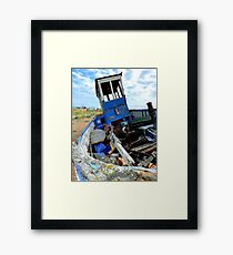 Boat Jumble Framed Print