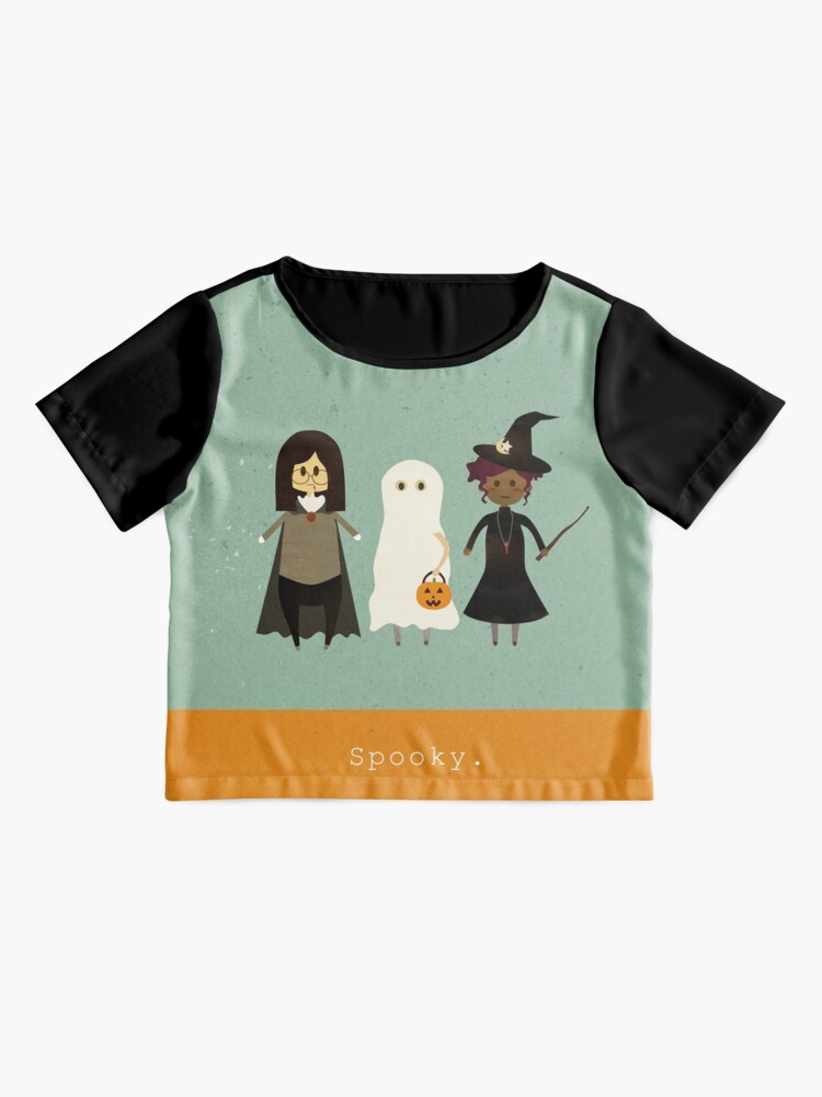 Alternate view of Spooky Chiffon Top