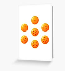 Dragon Balls - Dragon Ball Z Greeting Card
