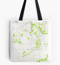 USGS TOPO Map Indiana IN Romney 160234 1961 24000 Tote Bag