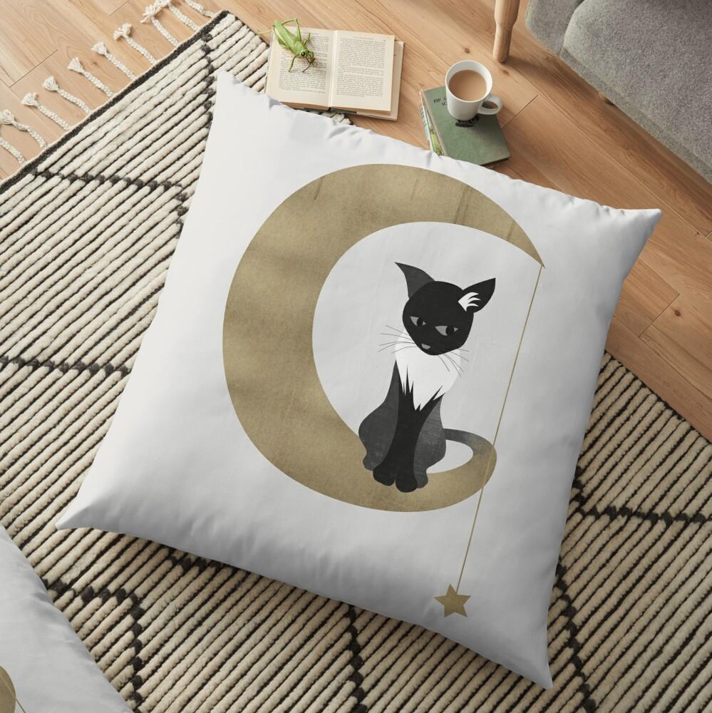 The Familiar Floor Pillow
