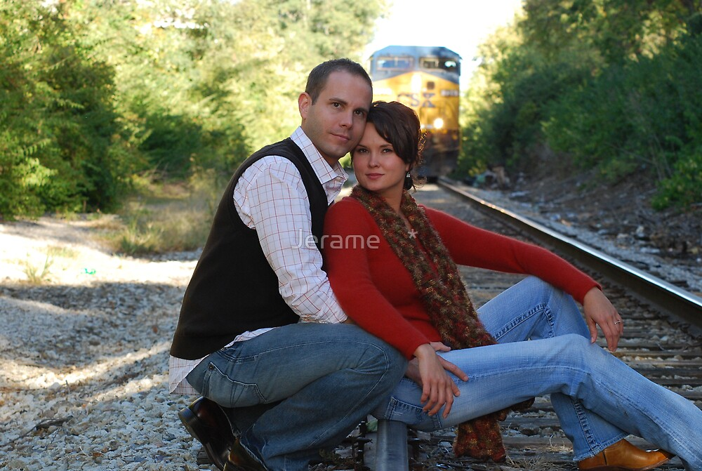 a loving couple by Jerame    *